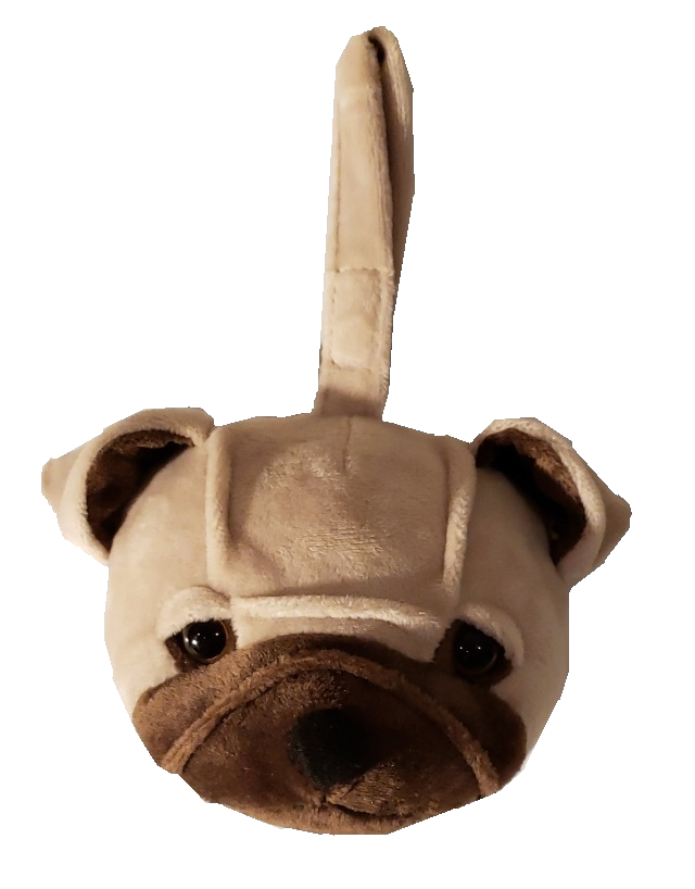 Pug - Plush Bag Dispenser