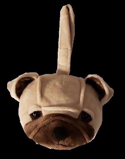 Pug - Plush Bag Dispenser