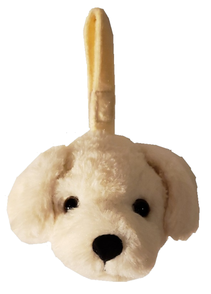 Labrador - Plush Bag Dispenser