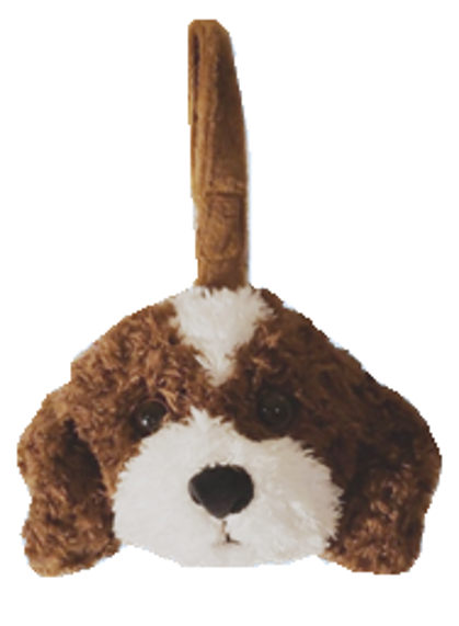 Border Collie - Plush Bag Dispenser